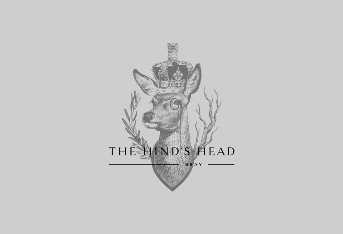 Logo for The Hind's Head